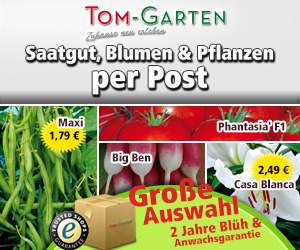 Pflanzen und Gartenutensilien Versandshop Tom Garten