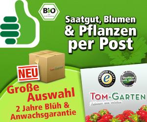 TOM GARTEN Profi-Saatgut und Pflanzenversand